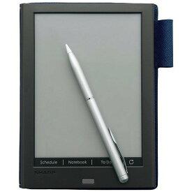 SHARP WG-PN1 ブラック系 電子ノート 6型電子ペーパーディスプレイ搭載 手帳型カバー付 パソコン連携可 データ取り込み