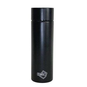 ステンレスボトル POKETLE ポケトル ボトル 120ml 水筒 保冷 マグボトル マイボトル ミニサイズ ブラック コンパクト 携帯用 スリム ポケット ステンレス アウトドア キャンプ オフィス ランニン