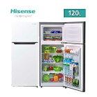 ハイセンス Hisense 冷蔵庫 冷凍庫 ホワイト 右開き 120L 直冷式 HR-B12C 一人暮らし 二人暮らし コンパクト 学生 新生活 春 単身 省エネ シンプル エントリーモデル