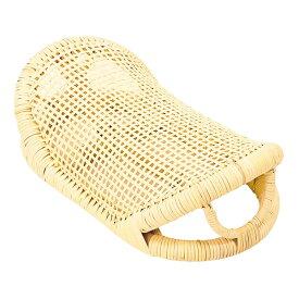 MA063 ナチュラル [籐舟形枕] メーカー直送