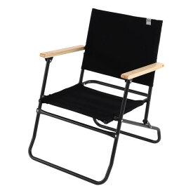 DOD C1-553-BK ブラック [ローローバーチェア] キャンプ アウトドア レジャー BBQ バーベキュー フェス 椅子 イス