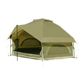 DOD T4-610-KH ライトカーキ [キノコテント] アウトドア キャンプ レジャー 簡単