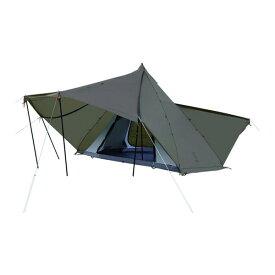 DOD T6-662-GY カーキグレー [ヤドカリテント] アウトドア キャンプ レジャー BBQ バーベキュー 大人数 ファミリー