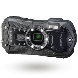 RICOH WG-70 ブラック [コンパクトデジタルカメラ (1600万画素)]