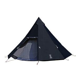 DOD T8-200-BK ブラック [ワンポールテントL] アウトドア キャンプ レジャー ファミリー 初心者 簡単