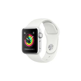 APPLE MTEY2J/A ホワイトスポーツバンド Series 3 GPSモデル 38mm [Apple Watch]