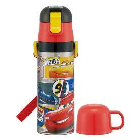 スケーター 子供用 2WAY ステンレス 水筒 コップ付き カーズ 20 ディズニー 430ml SKDC4