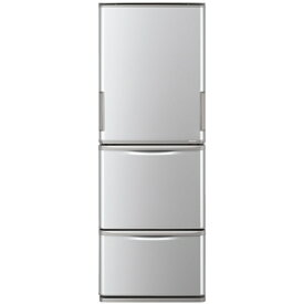 冷蔵庫 シャープ 3ドア 350L どっちもドア 左右フリー 左右開き 両開き 右開き 左開き 幅60cm シルバー系 SJ-W352F