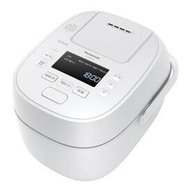 PANASONIC SR-MPW100 ホワイト Wおどり炊き [圧力IH炊飯器(5.5合炊き)]