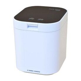 島産業 家庭用生ごみ減量乾燥機 1〜5人用 パリパリキュー ブラック 生ゴミ処理機 生ごみ処理機 家庭用 臭わない コンパクト PPC-11-BK PPC11BK