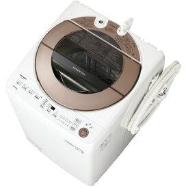SHARP ES-GV10E ブラウン系 [全自動洗濯機(10.0kg)]