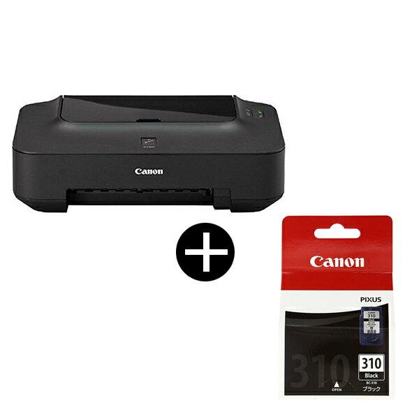 【送料無料】CANON PIXUS(ピクサス) A4インクジェットプリンター お得なインクカートリッジセット(ブラック) iP2700 + BC-310