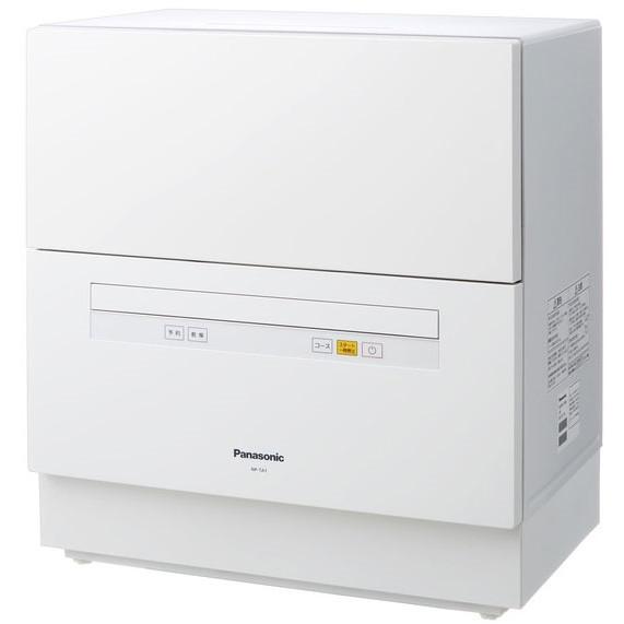 【送料無料】PANASONIC NP-TA1 ホワイト [食器洗い乾燥機 (5人用・食器点数40点)] NPTA1