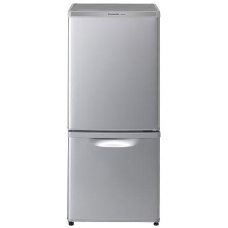 【送料無料】PANASONIC NR-B14AW-S シルバー [冷蔵庫 (138L・右開き)]