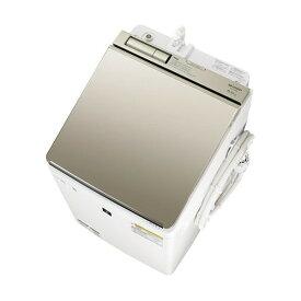 SHARP ES-PW8E ゴールド系 [洗濯乾燥機(洗濯8.0kg/乾燥4.5kg)]【代引き不可】