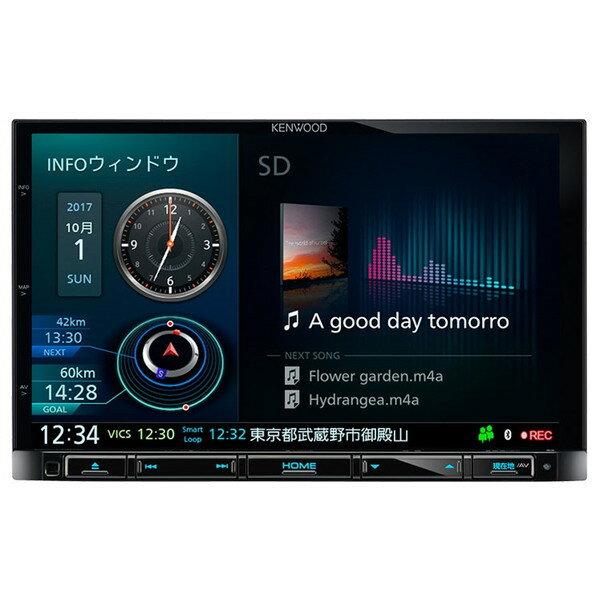 【送料無料】KENWOOD MDV-M805L 彩速ナビ [8V型ワイド地上デジタルTVチューナー/Bluetooth内蔵/DVD/USB/SD AVナビゲーション]