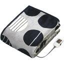 椙山紡織 SB-20KW06(GY) モダンサークル [プレミアムボア電気掛敷兼用毛布(190×140cm)]