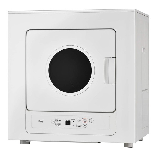 【送料無料】Rinnai RDTC-53S-13A ピュアホワイト 乾太くん [業務用ガス衣類乾燥機(5.0kg/都市ガス用)]