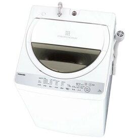 【送料無料】東芝 AW-7G6 グランホワイト 浸透パワフル洗浄 からみまセンサー 温度センサー [全自動洗濯機 (洗濯7.0kg)]