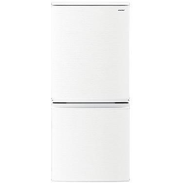 【送料無料】2ドア冷蔵庫 シャープ(SHARP) SJ-D14D-W ホワイト系 137L 左右フリー 小型 新生活 ひとり暮らし つけかえどっちもドア 庫内が明るくて見やすいLED庫内灯 電子レンジを載せて使える 耐熱100度のトップテーブル 高さ1125mm