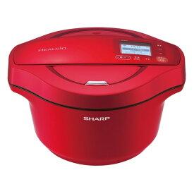 SHARP KN-HW24F-R レッド系 ヘルシオ ホットクック [水なし自動調理鍋 2.4L]