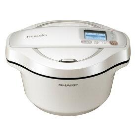 SHARP KN-HW24F-W ホワイト系 ヘルシオ ホットクック [水なし自動調理鍋 2.4L]