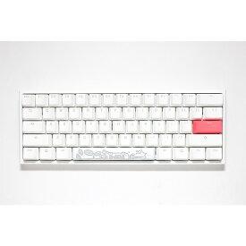 【正規代理店】 Ducky ダッキー ゲーミングキーボード dk-one2-rgb-mini-pw-silver One 2 Mini Pure White RGB 60% シルバー軸 USB 有線 PC用キーボード メカニカルキーボード パソコン 英語配列 テンキーレス CHERRY MX 銀軸
