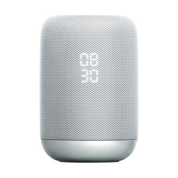 【送料無料】SONY LF-S50G W ホワイト [スマートスピーカー (Google Assistant対応)]
