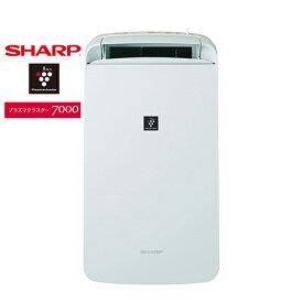 SHARP CM-L100 アイスホワイト系 コンパクトクール [衣類乾燥除湿機(木造〜13畳/鉄筋〜25畳まで)]