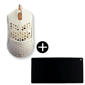 Finalmouse fm-ultralight2-capetown + od-zg3618-bw_2XL マウスパッドセット[ゲーミングマウス(光学式/5ボタン/USB/有線)]