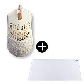 Finalmouse fm-ultralight2-capetown + od-zg3618-ww_2XL マウスパッドセット[ゲーミングマウス(光学式/5ボタン/USB/有線)]