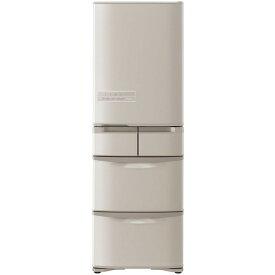 【送料無料】日立 R-K40H Kシリーズ/まんなか冷凍タイプ [冷蔵庫(401L・右開き・5ドア)] 【代引き・後払い決済不可】【離島配送不可】