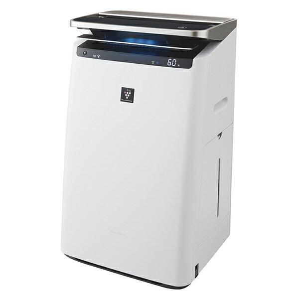 SHARP(シャープ) KI-HP100-W ホワイト系 加湿空気清浄機 (空気清浄〜46畳/加湿〜26畳まで)加湿/除電/高濃度プラズマクラスターNEXT/COCORO AIR/花粉/脱臭/ウイルス/ホコリ/パワフルショット/PM2.5対応/フィルター自動掃除/パワーユニット/AIoT/ペット/こども