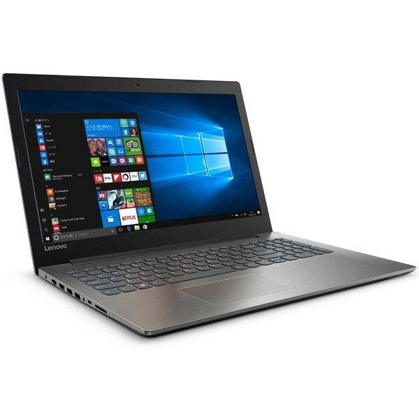 【送料無料】Lenovo 80XR00XSJP オニキスブラック ideapad 320 [ノートパソコン 15.6型ワイド液晶(HDD500GB DVDスーパーマルチドライブ)]