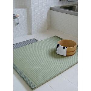 お風呂の畳 浴座好 バスマット 80×60cm 厚さ2cm お風呂 お風呂グッズ 畳 和 い草 アンツ メーカー直送
