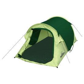 テント ワンタッチ ワンタッチテント 小型 簡単 キャンプ アウトドア 一人用 2人用 オシャレ おしゃれ コンパクト ドームテント 1~2人用 レジャー おすすめ グリーン 緑 HAC2701