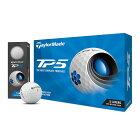テーラーメイド TP5 ゴルフボール 2021年モデル 1ダース(12個入り) ホワイト 【日本正規品】