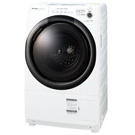 SHARP ES-S7F-WR ホワイト系 [ ドラム式洗濯乾燥機 (洗濯7.0kg/乾燥3.5kg) 右開き ] レビューCP500