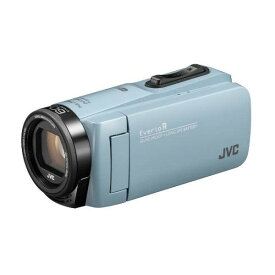 ビデオカメラ JVC ( ビクター ) 64GB 大容量バッテリー GZ-RX680-A サックスブルー 約4.5時間連続使用可能 防水 旅行 成人式 卒園 入園 卒業式 入学式 結婚式 出産 アウトドア 学芸会 小型 小さい