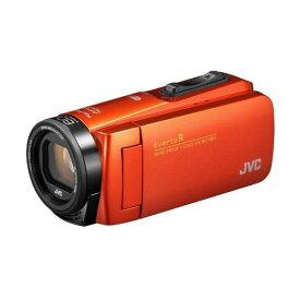 ビデオカメラ JVC ( ビクター ) 64GB 大容量バッテリー GZ-RX680-D ブラッドオレンジ 約4.5時間連続使用可能 防水 防滴 防塵 耐衝撃 耐低温 旅行 成人式 卒園 入園 卒業式 入学式 結婚式 出産 アウトドア 学芸会 小型 小さい