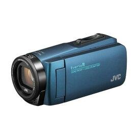 ビデオカメラ JVC ( ビクター / VICTOR ) 32GB 大容量バッテリー GZ-R480-A ネイビーブルー Everio R エブリオ 約5時間連続使用可能 旅行 卒園 入園 卒業式 入学式 成人式 結婚式 出産 アウトドア 学芸会 小型 小さい