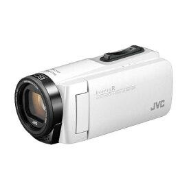 ビデオカメラ JVC ( ビクター / VICTOR ) 32GB 大容量バッテリー GZ-R480-W シャインホワイト Everio R エブリオ 約5時間連続使用可能 旅行 卒園 入園 卒業式 入学式 成人式 結婚式 出産 アウトドア 学芸会 小型 小さい