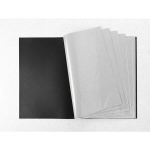 VERSOS(ベルソス) VS-Z01-BK ブラック [B2ポスターファイル] 12ポケット(24枚収納) デザイン デッサン 下書き 下絵 新聞 などの収納 CD特典のポスター収納 コレクション 折り曲げ不可資料 大きいサイ