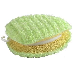 ベストコ MA-2612 びっくり 園芸用 作業着洗い グリーン 10×7.5cm 洗濯クリーナー スポンジ 汚れ落とし 日本製