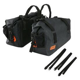 DOPPELGANGER DBT393-BK ブラック [ターポリンサイドバッグ ]