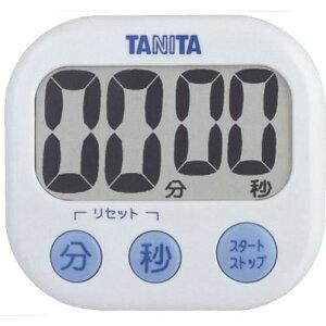 TANITA TD-384 WH ホワイト でか見えタイマー [デジタルタイマー]
