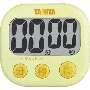 TANITA TD-384 YL イエロー でか見えタイマー [デジタルタイマー]