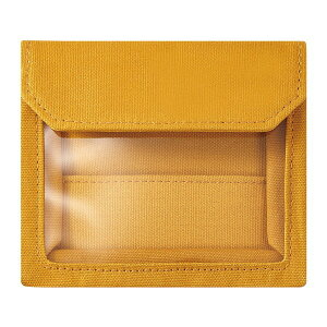 KING JIM FLATTY WOEKS カード キイロ 5456 [バッグインバッグ]