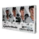 テーラーメイド TP5X ゴルフボール 1ダース(12個入り) アスリートエディション【日本正規品】