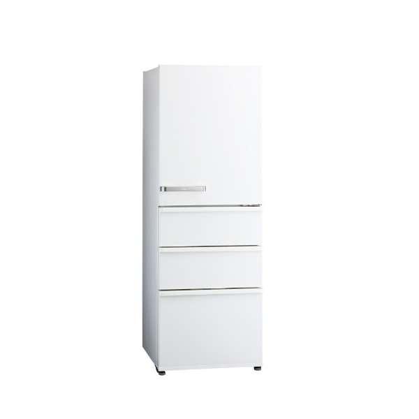 【送料無料】AQUA AQR-36G-W ナチュラルホワイト [冷蔵庫 (355L・右開き)]